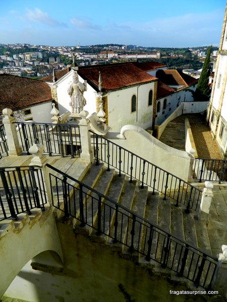 Escadarias de Minerva - Universidade de Coimbra
