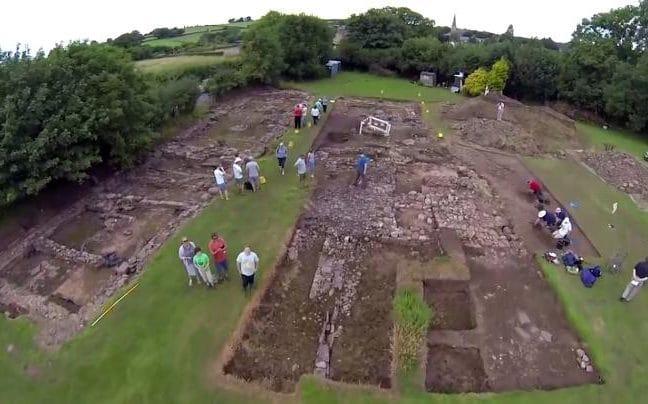 Un archéologue pense avoir découvert la cité de Trellech