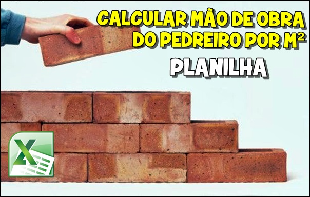 aprenda como calcular a mão de obra do pedreiro por metro quadrado