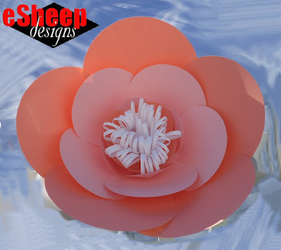 Flower made by eSheep Designs from Robert Mahar CreativeLive class