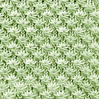 Textured Knitting 30: Daisy Flower | Knitting Stitch Patterns.