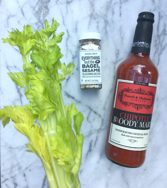 Amazing Bloody Mary Recipe and other Ideas for using Trader Joe's Everything but the Bagel Seasoning!