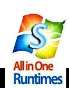 All In One Runtimes 2.4.2 (Inglés)(Paquetes de Utilidades Para Windows)