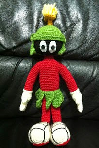 http://www.ravelry.com/patterns/library/marvin-the-martian-amigurumi-pattern