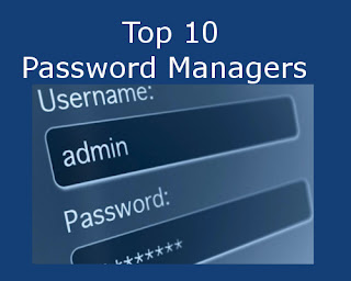 Top 10 Password Managers 2018