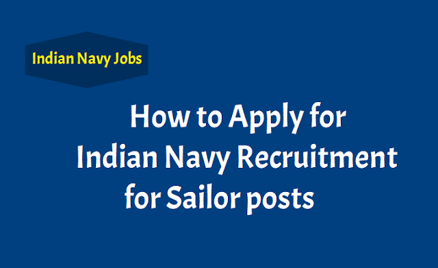 How to Apply for Indian Navy Recruitment