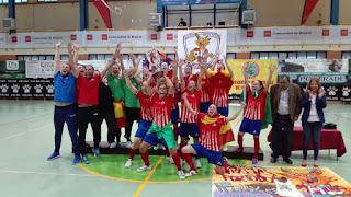 FÚTBOL SALA - Atlético Navalcarnero primer campeón de la I Copa de Europa de clubes femenina
