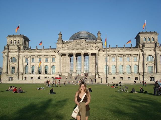 Reichstag, Berlim.