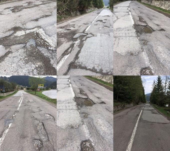 Petiție pentru reabilitarea drumului naţional 17B, Vatra Dornei - Valea Bistriței - Jud. Neamț