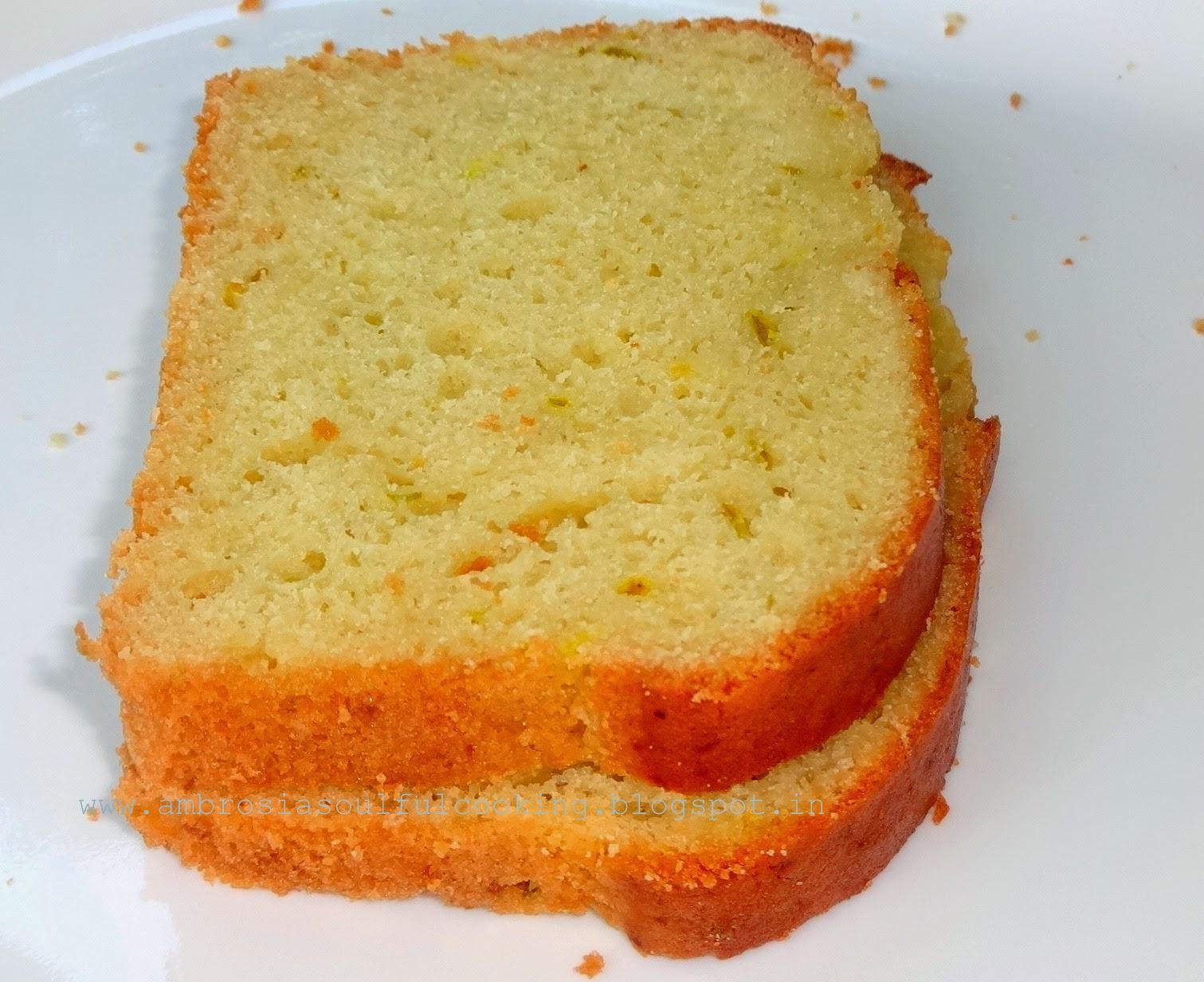 Low Sugar Loaf Cake Recipes: Low Fat Orange Loaf Cake