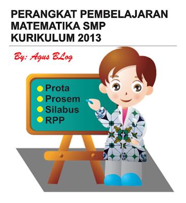 File Pendidikan DOWNLOAD PERANGKAT PEMBELAJARAN MATEMATIKA SMP K13 TERBARU SUPER LENGKAP