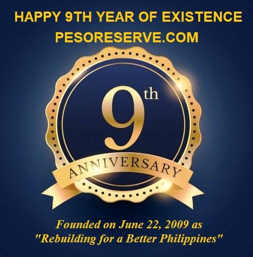 PesoReserve.com 9th Anniversay