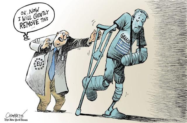 Η Ελλάδα τρέφεται από τις σάρκες της