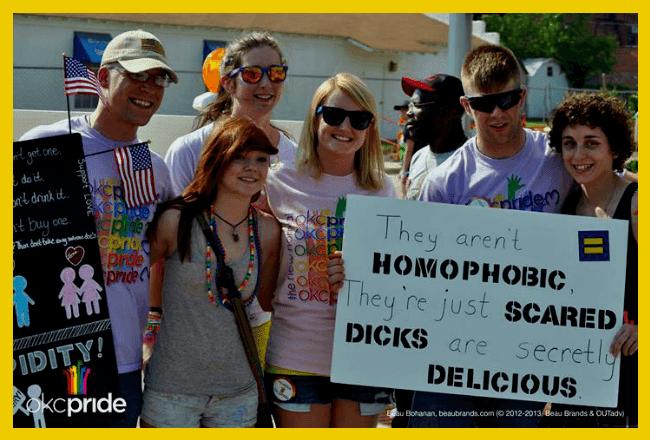 OKC Pride supporters