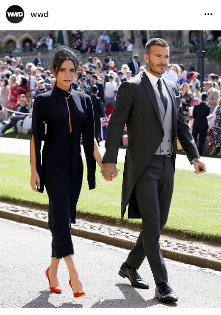 Victoria Beckham Shoes at the Royal Wedding