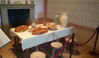 Cocina del Castillo de Belmonte.