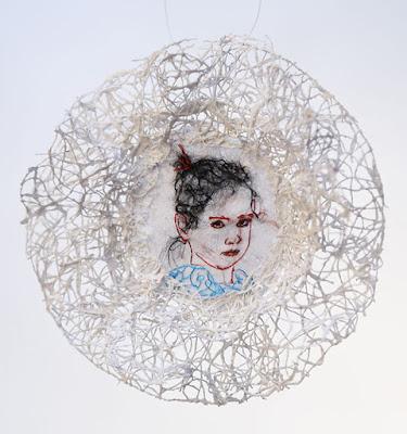 broderie contemporain, embroidery, arte textile,