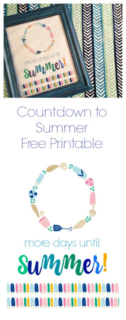 Countdown to Summer (Free Printable) | The Chirping Moms