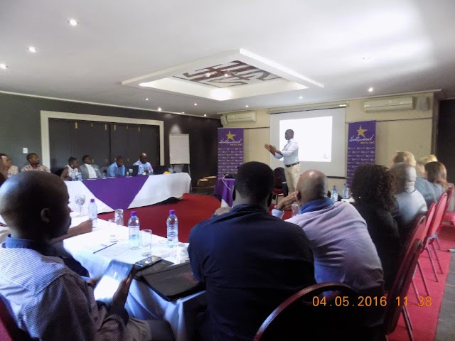Lectures during the course for the Limpopo Entrepreneurial Development Programme hosted by Business Fit and Hollywoodbets