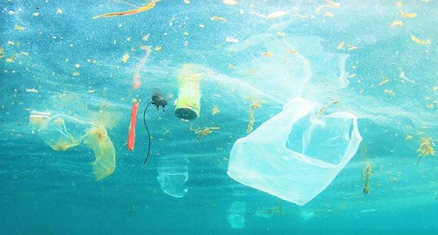 garbage of plastic