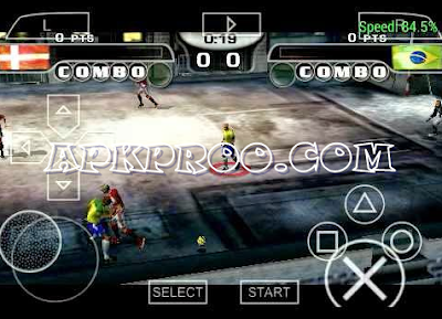 Download Game FIFA Street 2 PPSSPP ISO Full Version Free Download Mod Texture