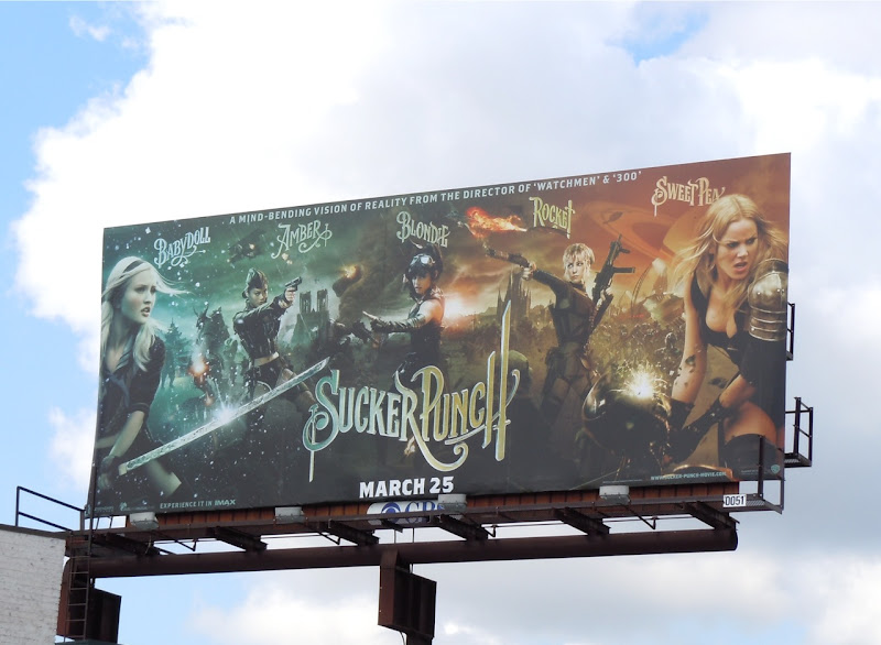 Sucker Punch movie billboard