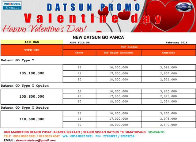 DATSUN  GO PROMO TERBARU
