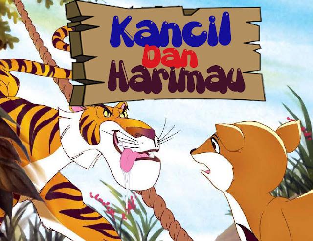 cerita dongeng si kancil dan sekumpulan harimau lapar
