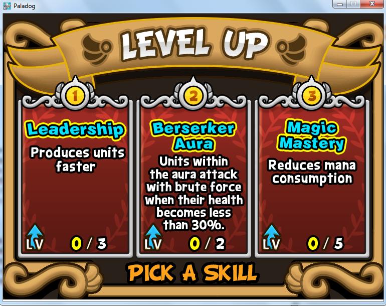 Level Up Paladog