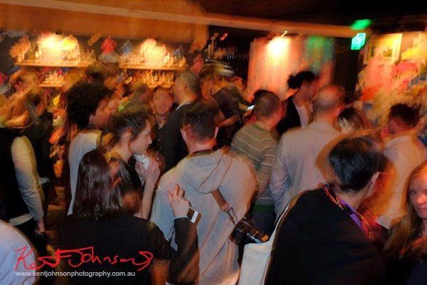 Crowd, Lynx #lynxman relaunch party at WIP BAR Sydney.