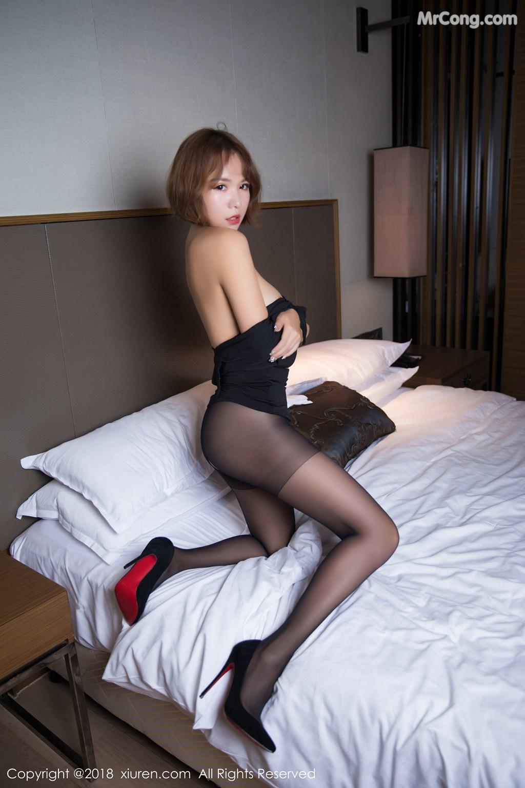 Image XIUREN-No.1264-Ya-Wen-MrCong.com-057 in post XIUREN No.1264: Người mẫu Ya Wen (雅雯) (61 ảnh)