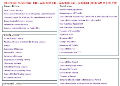 e-Services Telangana
