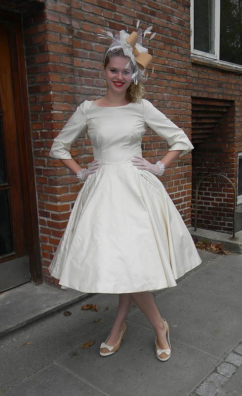 kjole fra 50 erne