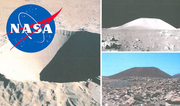 Locais onde possivelmente a ida a lua foi produzida na Terra