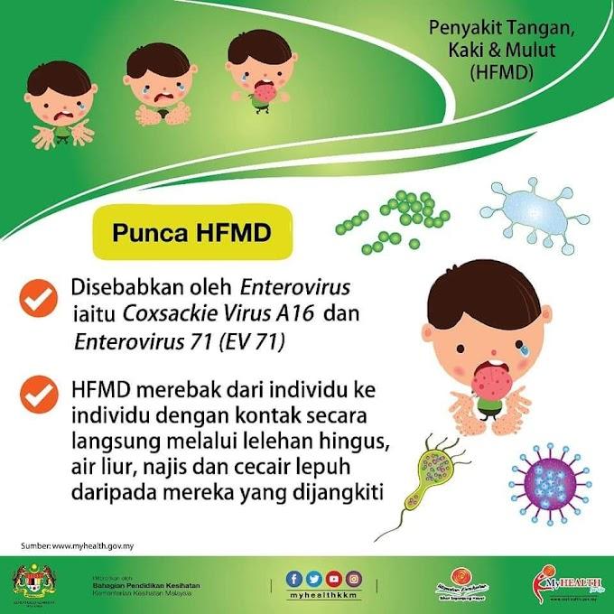 Tak keruan anak kena HFMD |Cara Kurangkan Gatal Parut