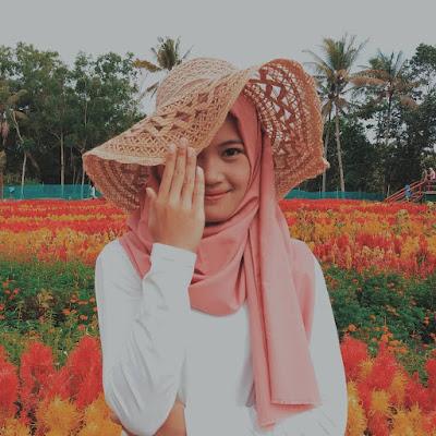 Foto Cantik Taman Bunga Tali Asmoro Cilacap