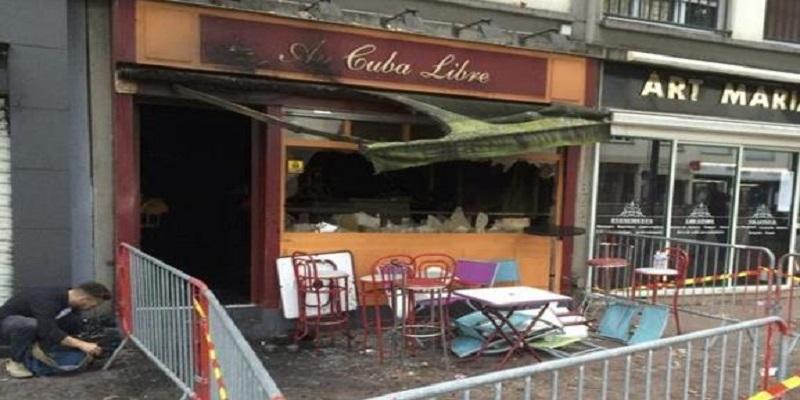 fuego en un bar de Francia