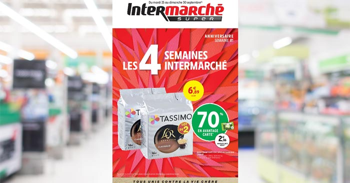 Catalogue Intermarché Super Du 24 au 30 septembre 2018
