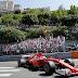 #Ferrari conquistó el GP de Mónaco y #Mercedes no logró llegar al podio