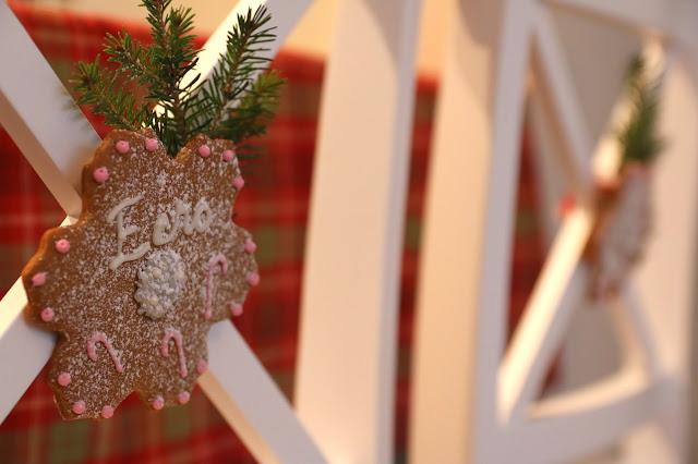 syötävä paikkakortti, joulupipari, piparipaikkakortti