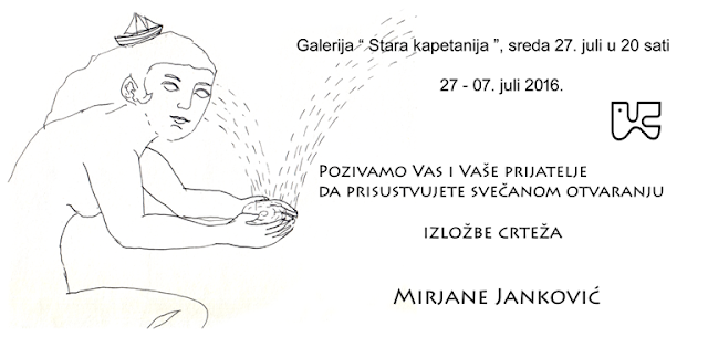 Izložba crteža Mirjane Janković