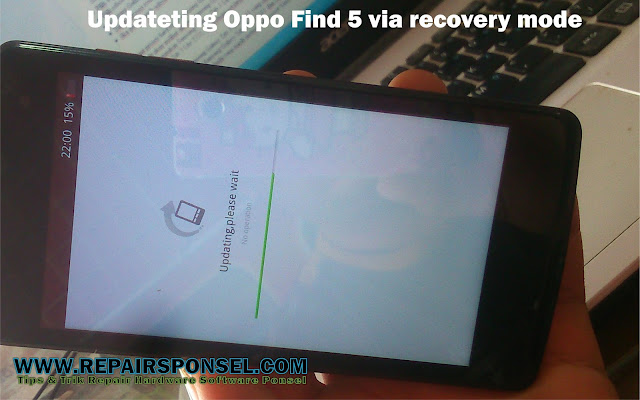 Flash Oppo Find 5 via Recovery Mode