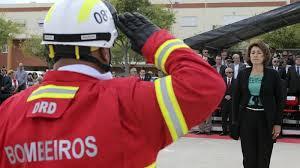 constança urbano de Sousa e bombeiros
