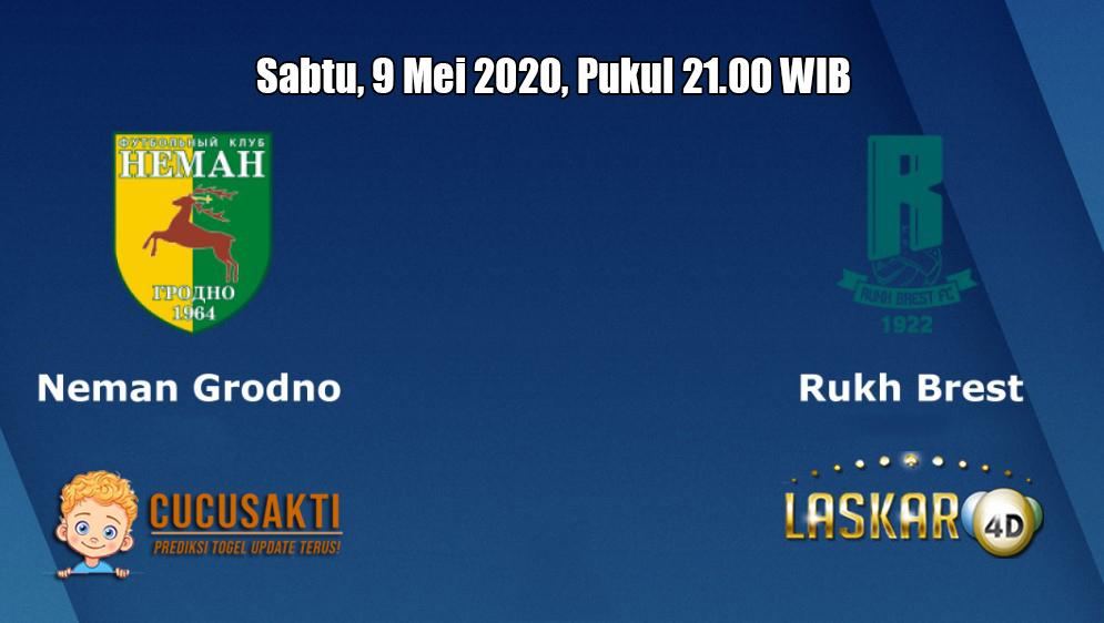 Prediksi Neman Grodno VS Rukh Brest 9 Mei 2020