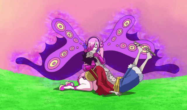 Chị gái Sanji hút chất độc cứu luffy