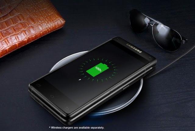 سامسونج تعلن رسمياً عن هاتفها الراقي الصدفى  Samsung Leadership 8 بشاشتين Full HD
