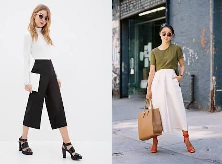 Model Celana Kulot Katun Panjang Dan Pendek Casual Terbaru 2017 Jallosi