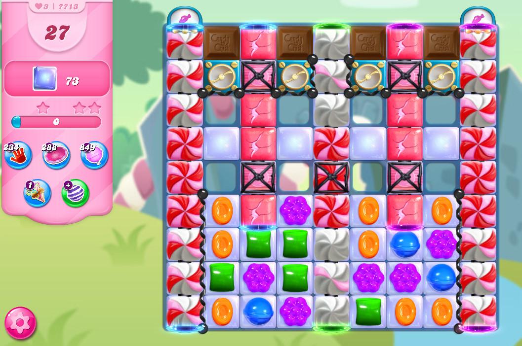 Candy Crush Saga level 7713