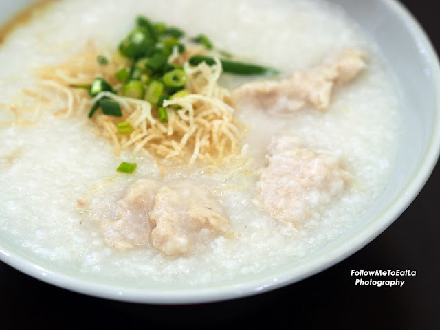 Fish Paste Porridge RM 8