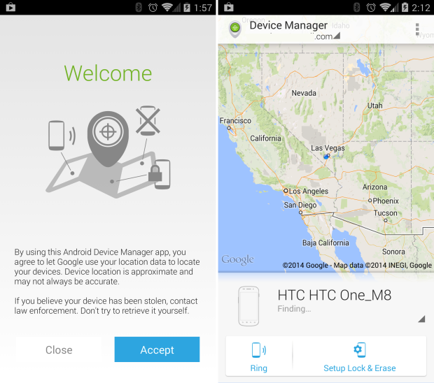 Android Device manager apps